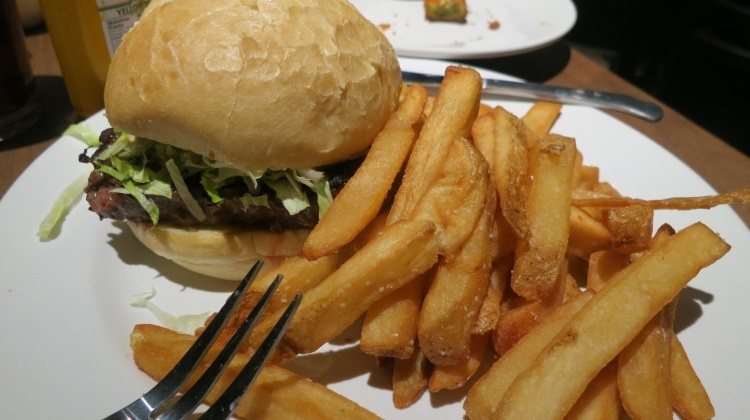 wasatch brew pub in sugarhouse buffalo burger and fries