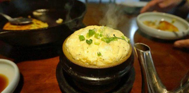 seoul garden steamed egg
