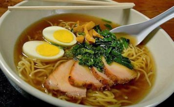 ramen at sasa kitchen