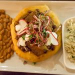 Black Sheep Sugar House - fry bread tacos with brisket