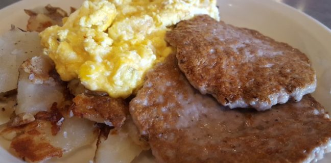 Over The Counter Cafe Breakfast -
