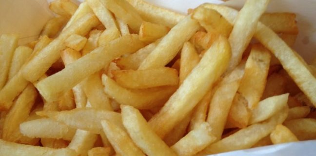 bruges waffles and frites - frites