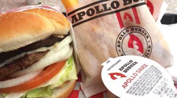 Apollo Burger menu