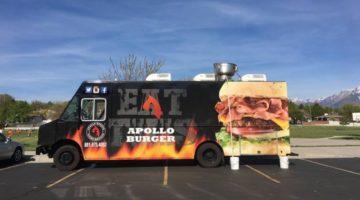 Apollo Burger food truck menu