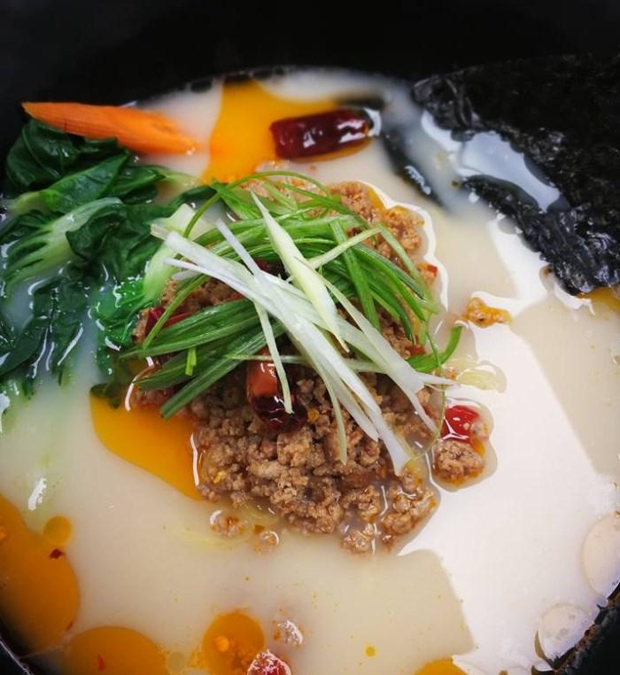 Sushi Stix menu - tonkotsu ramen
