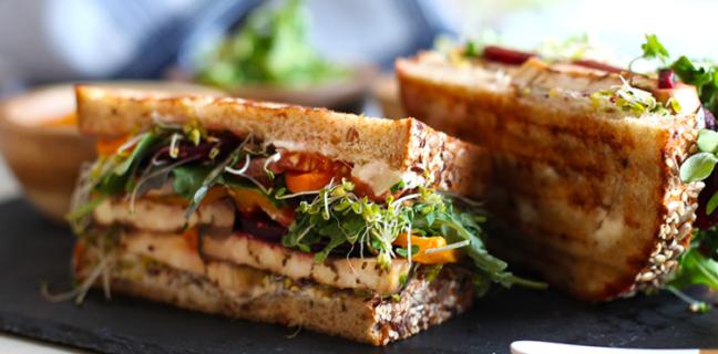 Around Eatery - sandwich. Credit, Around Eatery