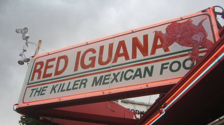 Red Iguana - killer Mexican food