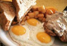 Blue Plate Diner - chicken fried steak. Credit Blue Plate Diner