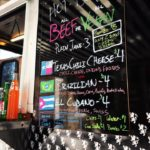 Gerlach's food truck menu June 2017