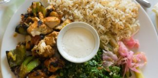 Laziz Kitchen - shish tawook