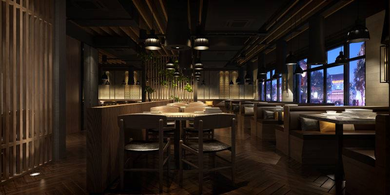 Ombu Grill - sleek and chic interior