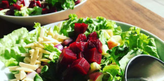 Cuppa - 100% organic apple beet poppy salad