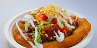 Fry Me To The Moon - navajo taco. Credit, Fry Me To The Moon