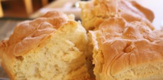 Ruth's Diner - mile high biscuits