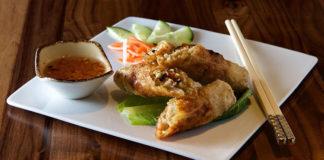 SOMI Vietnamese Bistro - egg rolls. Credit, SOMI