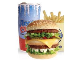 Arctic Circle - Black Angus burger fries and shake. Credit Arctic Circle