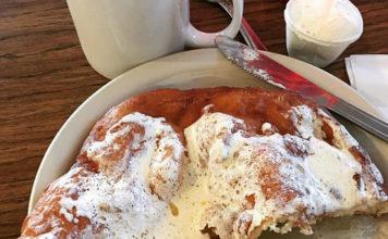Sill's Cafe - classic Utah scones. Credit Sills