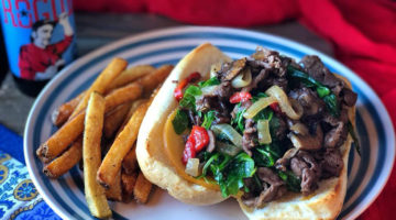 Silver Star Cafe - cheese steak. CRedit Silver Star
