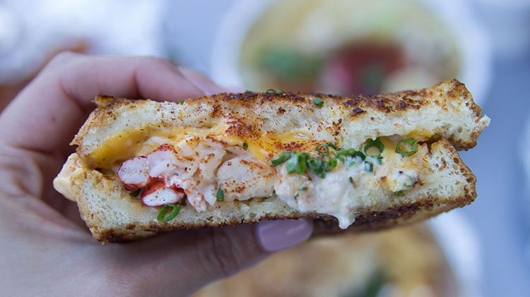 Slapfish - Clobster Grilled Cheese - open for lunch