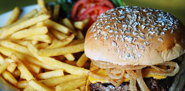 Squatters - bison burger. Credit Squatters