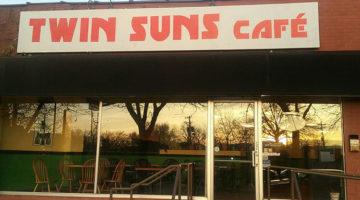 Twin Suns Cafe menu