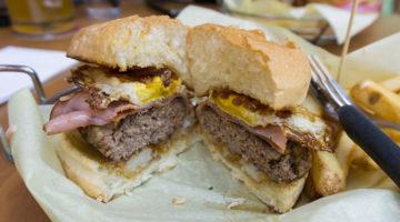 Warrens Craft Burger menu