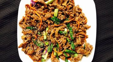 Ahtti Korean Munchies food - beef bulgogi. Credit, Ahtti