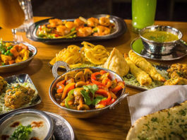 Bombay House - Indian meal. Credit Bombay House