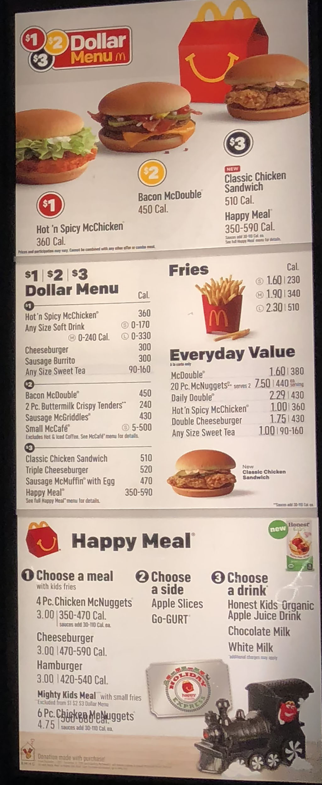 Mcdonalds menu with prices slc menu mcdonalds menu dollar menu and happy meals altavistaventures Gallery