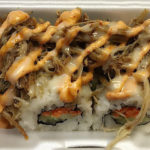 Sushi Be Rollin food truck menu