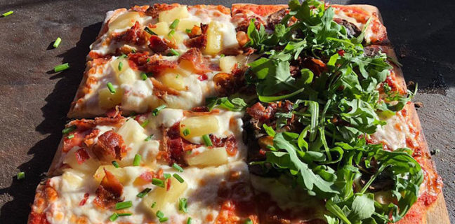 Umani food truck - hawaii and palermo pizza. Credit Umani