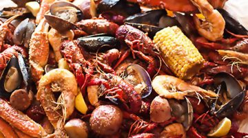 Bucket O Crawfish menu