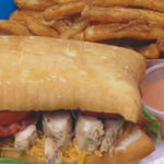 Sconecutter - chicken club scone with fries and fry sauce. Credit, Sconecutter
