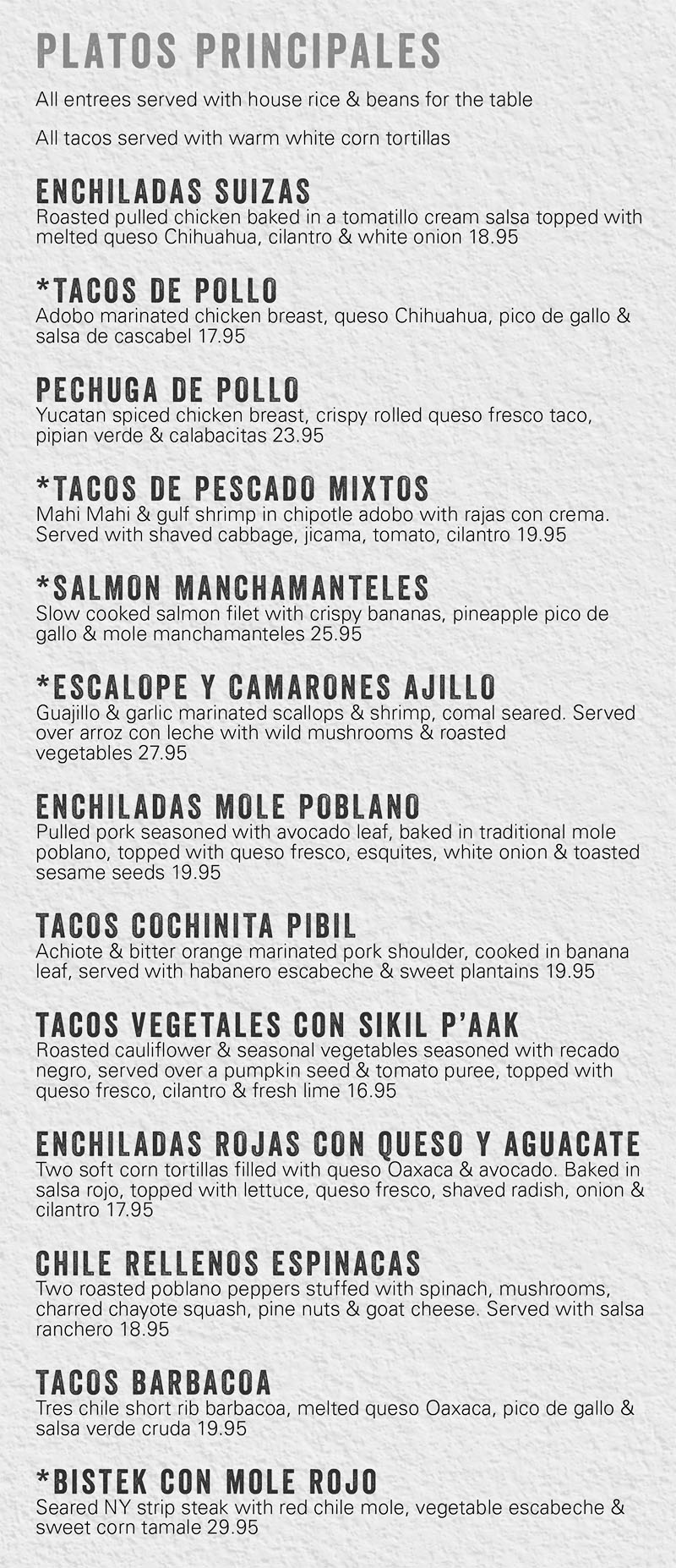 Amazing Tamale Kitchen Menu Component - Home Design Ideas and ...