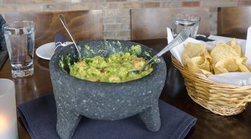 Alamexo - table side guacamole