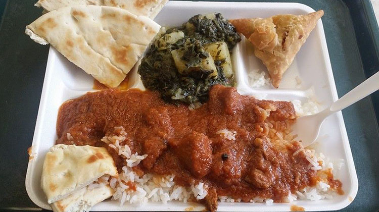 Curry In a Hurry - combo plate (Hernz Vick, Curry In A Hurry FB page)