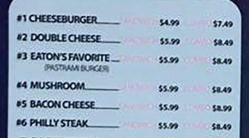 Eaton Greek And Burgers