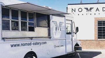 Nomad Eatery food truck menu
