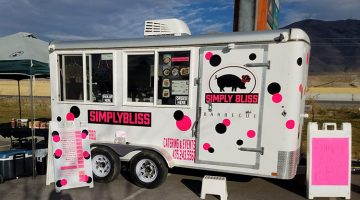 Simply Bliss Bakery And BBQ food truck menu