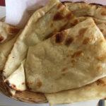 Taj India menu