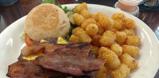 Alices Kitchen - burger and tater tots (Lucas John)