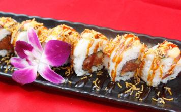 Hamachi - white dragon roll (Hamachi)