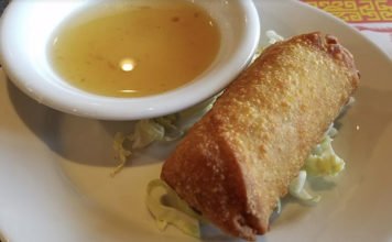Red Lantern - egg roll (Bill Gillane)