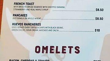 Angry Goat menu