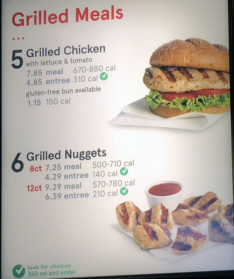 graphic relating to Chick Fil a Menu Printable named Chick-fil-A menu with price ranges SLC menu