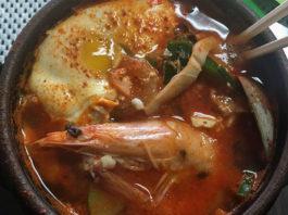 Cuisine at Beepbop korean BBQ in Ogden (Kristina M)
