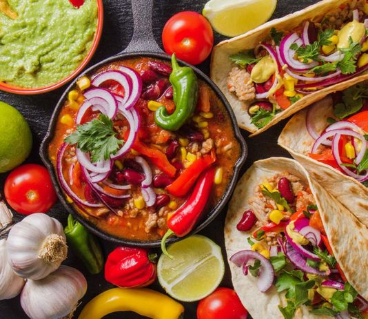 Generic Mexican food (Freepik)