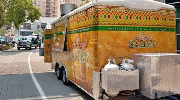 El NeNe Sammy food truck menu