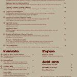 Sicilia Mia menu