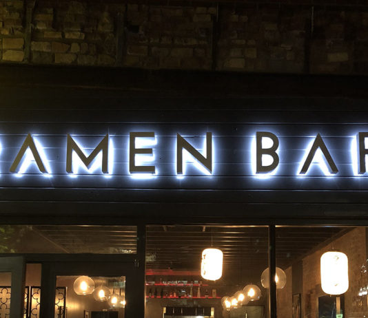Ramen Bar in downtown SLC